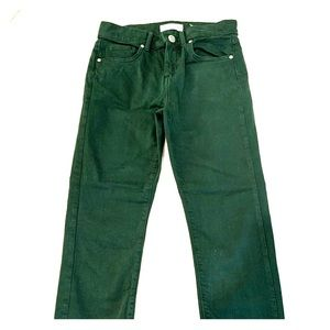 Loft army green pants! SUPER comfy!